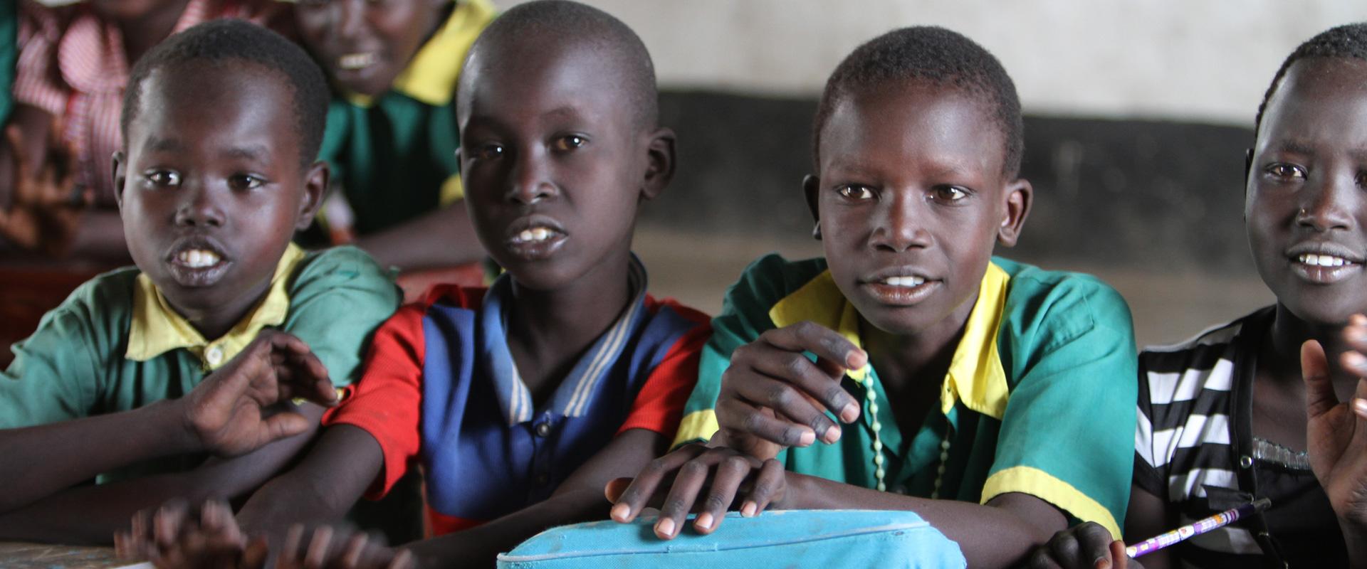 Skole - ingen selvfølge - en menneskerett - Sør-Sudan
