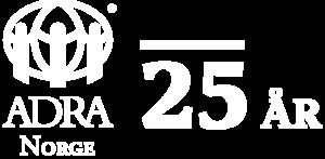 ADRA_25år_hvit