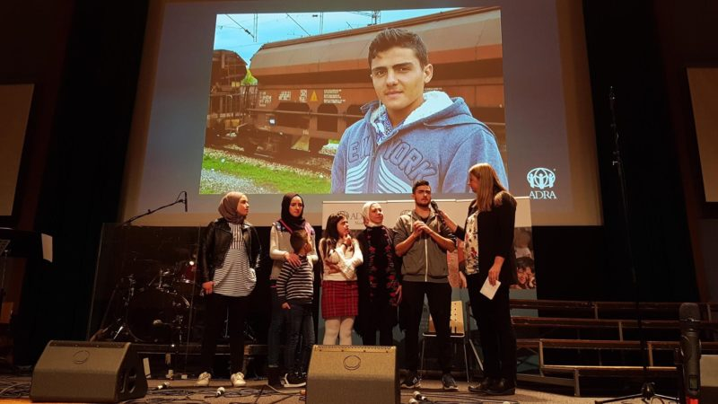 Nye venner. Møte med Syrisk familie fra Drammen.