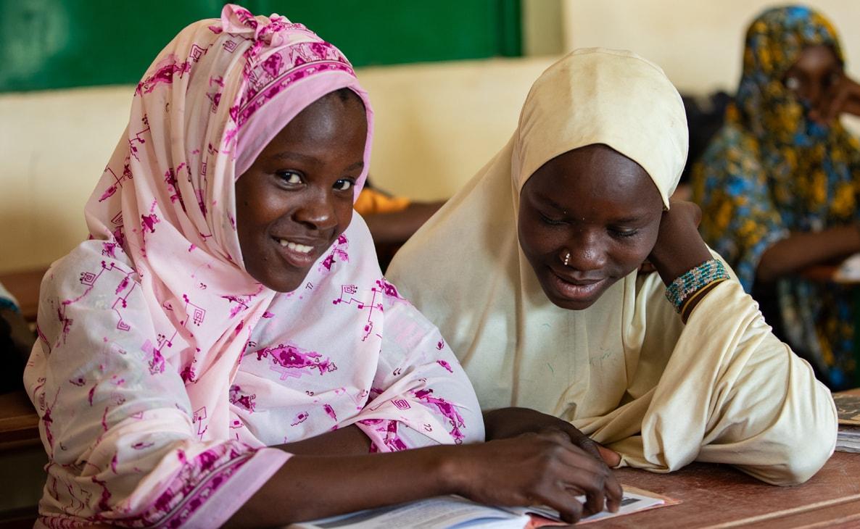 Jenter - skole - Niger