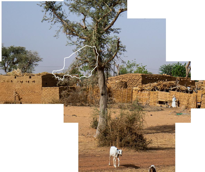 Omrissekart - Niger - Afrika